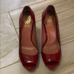 Vince Camuto Red Pump